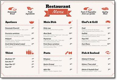 burbank printing print restaurant menus retail prints